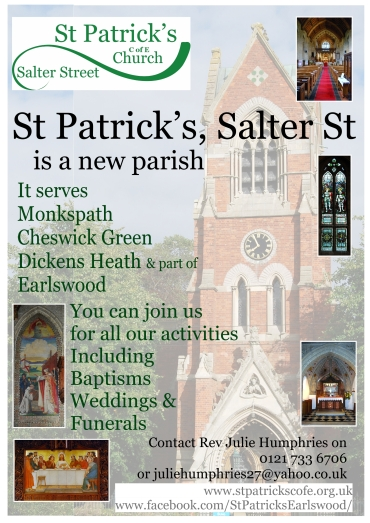 Sep 2017 new parish